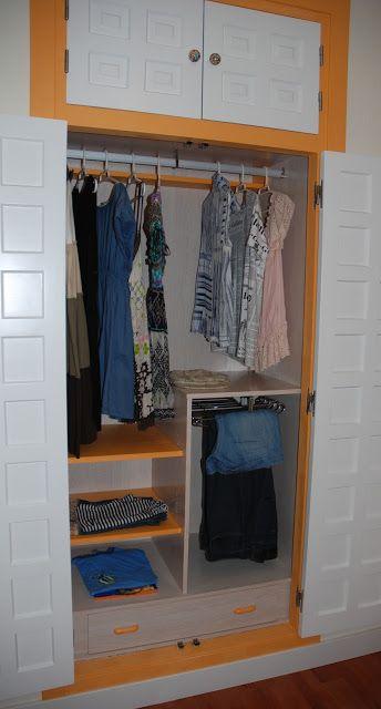 Cmo forrar un armario empotrado Diseos de casas Pinterest