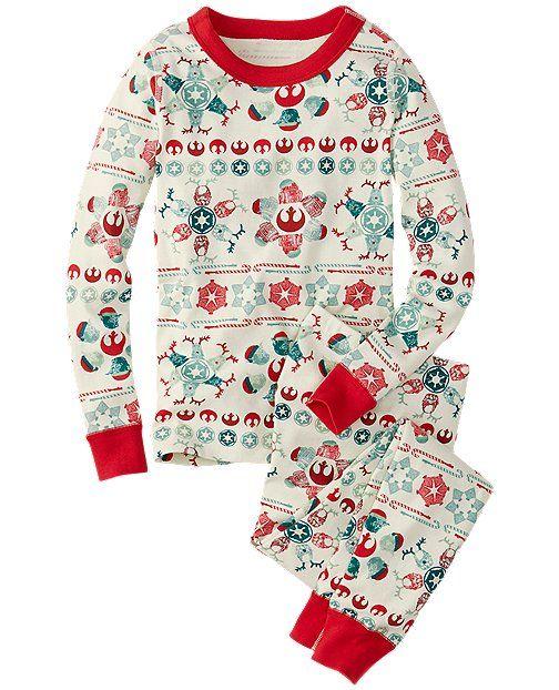 9af51ba3a78a Star Wars™ Long John Pajamas In Organic Cotton
