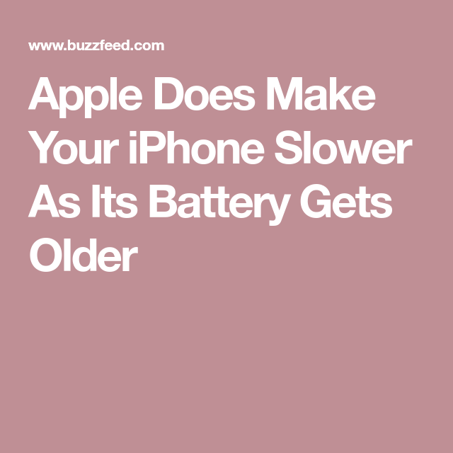Apple Will Still Slow Your iPhone As It Ages, But Now It's