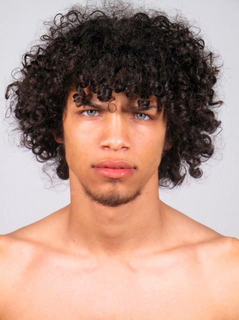 Black Guys With Curly Hair And Green Eyes The Best Undercut Ponytail