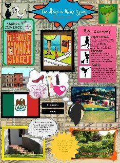 Mango Street Collage The House On Mango Street Rubrics For Projects Creative Writing Lesson