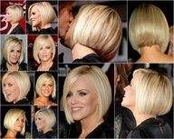 Jenny McCarthy Haircut Back View | jenny mccarthy bob short hair style back view.
