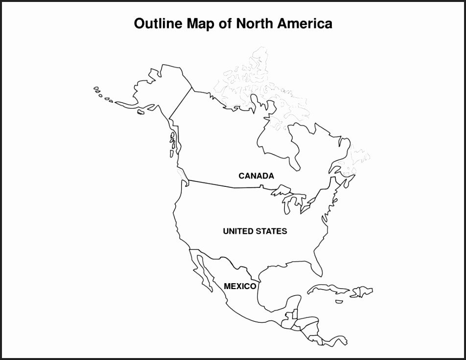 Outline Map Of Spanish Speaking Countries blank world map with