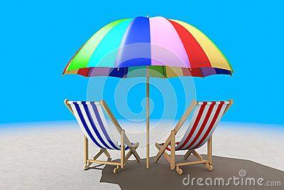 Dos Sillas De Playa Debajo De La Sombrilla Sillas De Playa Sombrillas Para Playa Imagenes De Sombras
