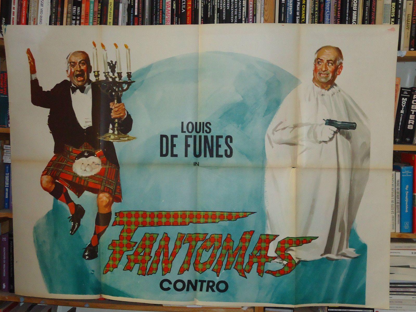 louis de funes fantomas contre scotland yard affiche ebay louis de fun s pinterest louis. Black Bedroom Furniture Sets. Home Design Ideas