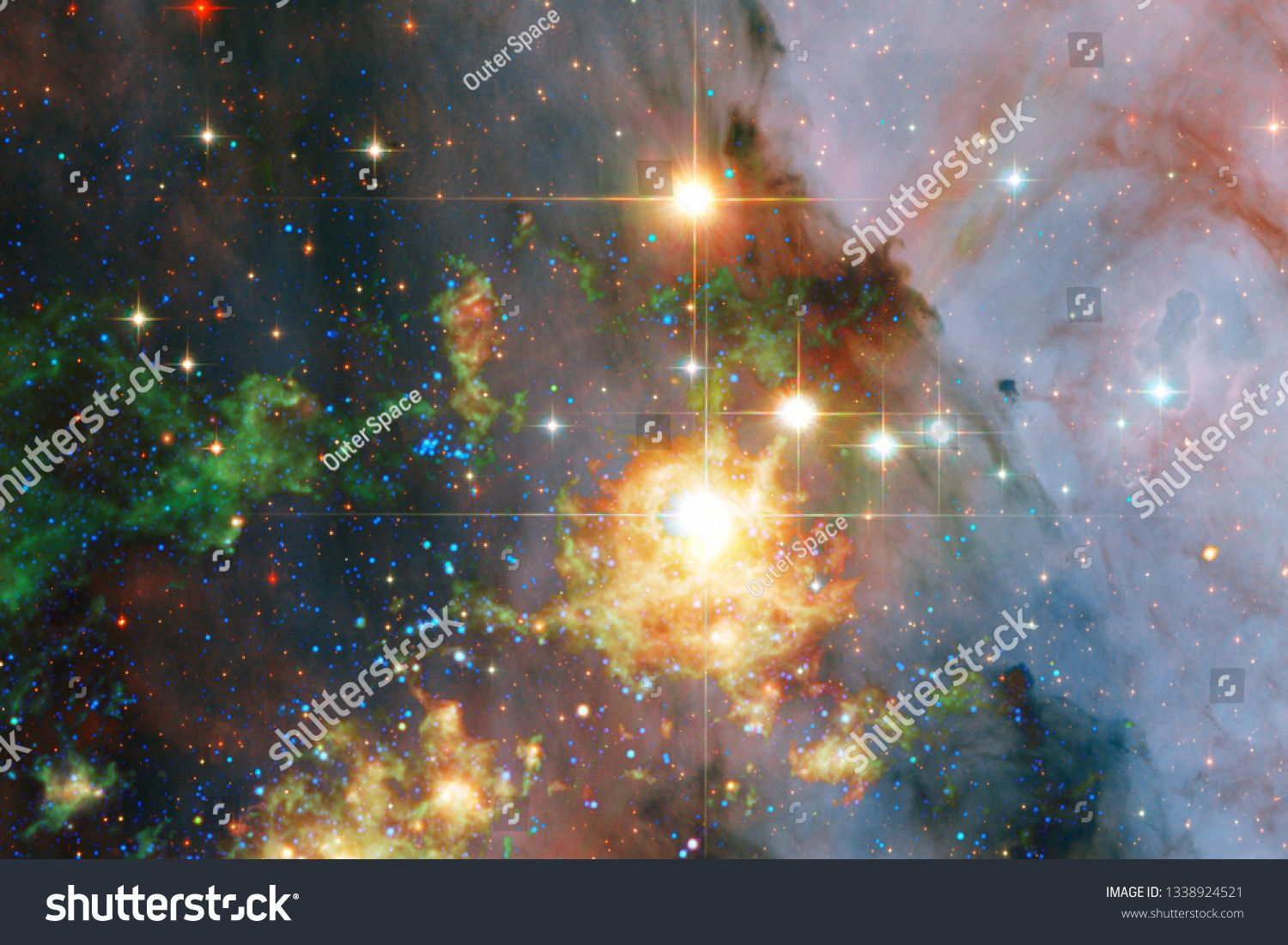 Beauty Deep Space Science Fiction Fantasy In High Resolution Ideal For Wallpaper Elements Of This Image Furnished In 2020 Deep Space Science Fiction Fantasy Fiction
