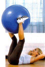 esercizi di ginnastica in casa per addominali pancia..