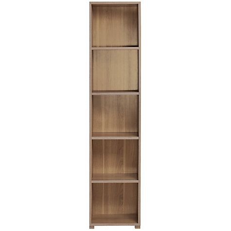 8a654c181404 Buy John Lewis Value Kirby Tall, Narrow Bookcase Online at johnlewis.com