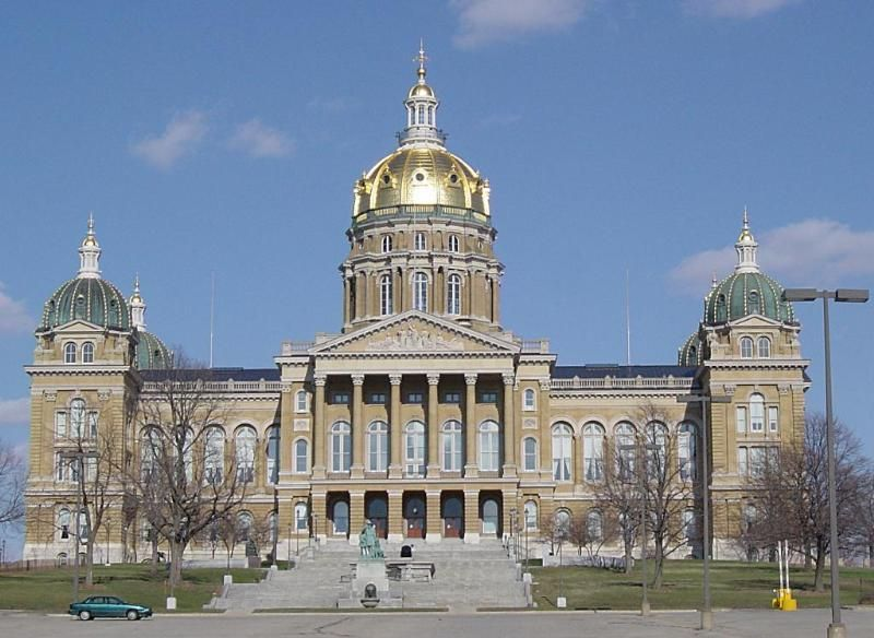 Good Photo Of The Iowa Capitol Building In Des Moines