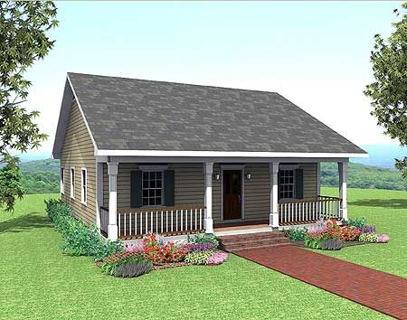 House designs country cottage