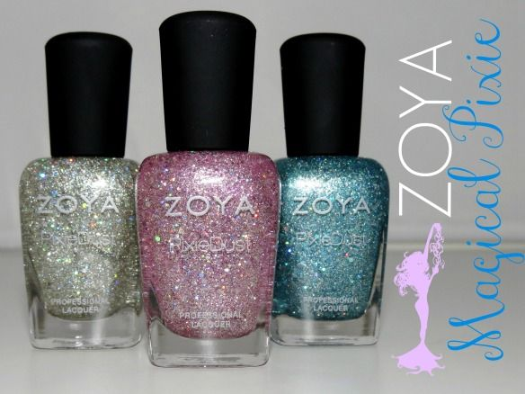 Zoya Magical Pixie Nail Polish Collection Swatches & Review | via @BlushingNoir