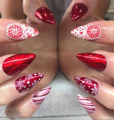Christmas Nails 2017 By Nailsbywendy From Nail Art Gallery