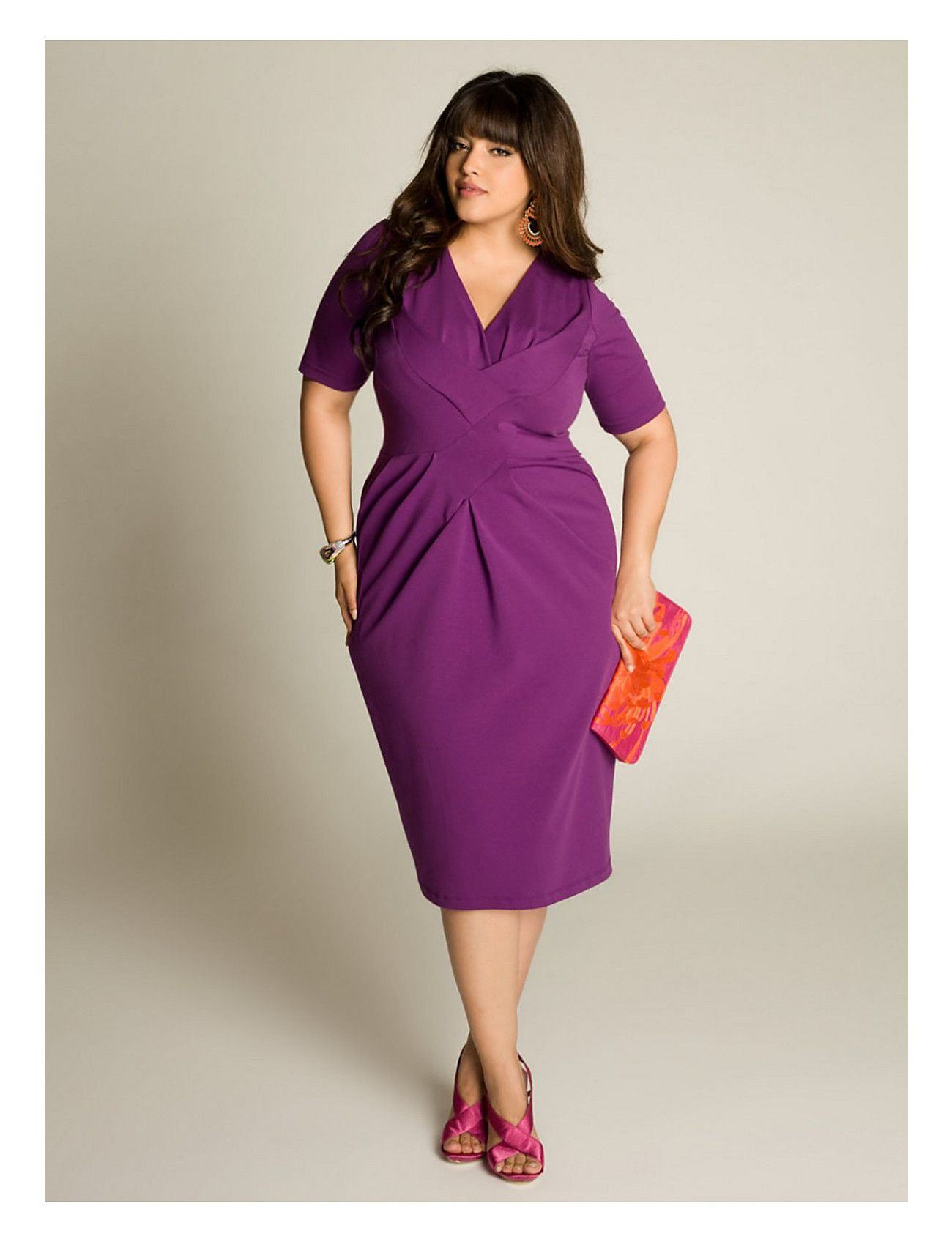 Chanda Dress in Orchid | Lane Bryant | Hats and Formal Wear ...