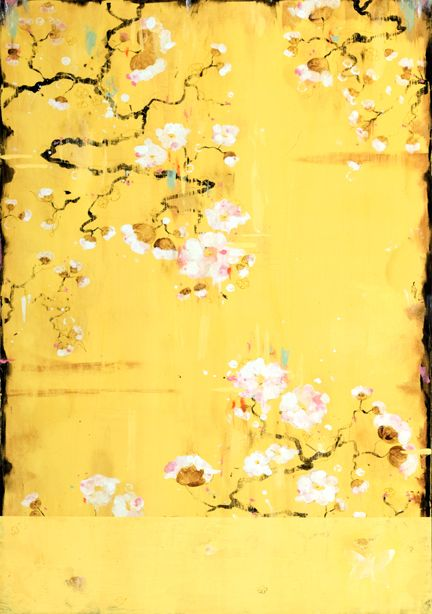 Kathe Fraga Chinoiserie Style Paintings.