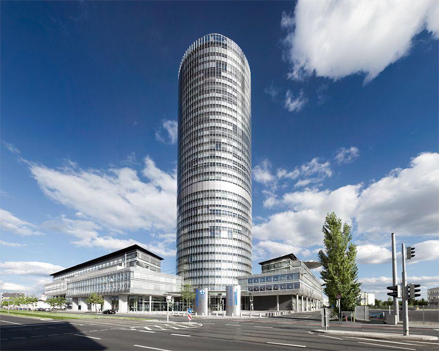Business Tower Nuremberg Germany Building Skyscraper Germany