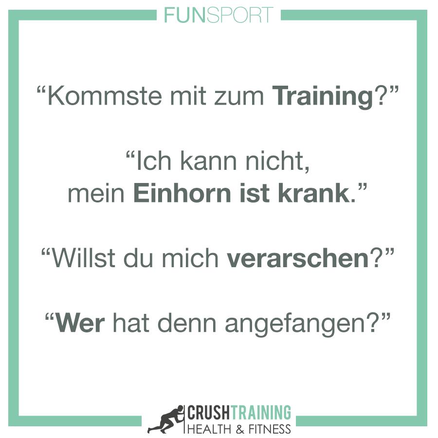 Was hat ein Einhorn mit Training zu tun? Lies selbst!