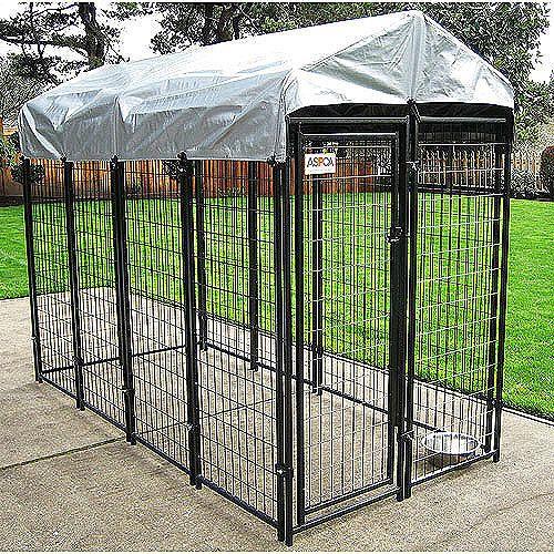 Aspca Premium Dog Kennel 72 H X 48 W X 96 L Walmart Com Dog Cages Dog Kennel Outdoor Outdoor Dog