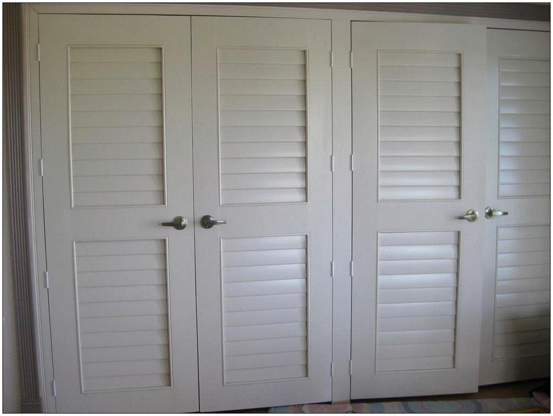 Louvered Sliding Doors For Closets Inside Sizing 1024 X 768 Shutter Doors For Closets Deciding On The Folding Closet Doors Wardrobe Doors Lowes Closet Doors