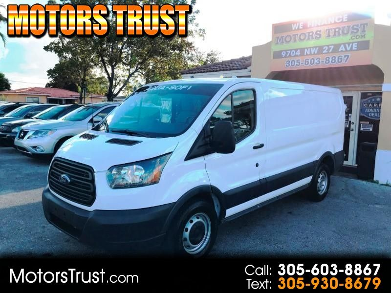 2016 Ford Transit Cargo Van T 150 130 Low Rf 8600 Gvwr Sliding Rh Dr White Comm Pickup Van 3 Doors 182