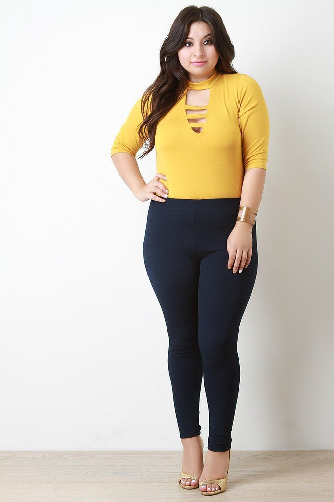 These Plus Size Pants Features An Elasticized Waist Taper Cut Legs