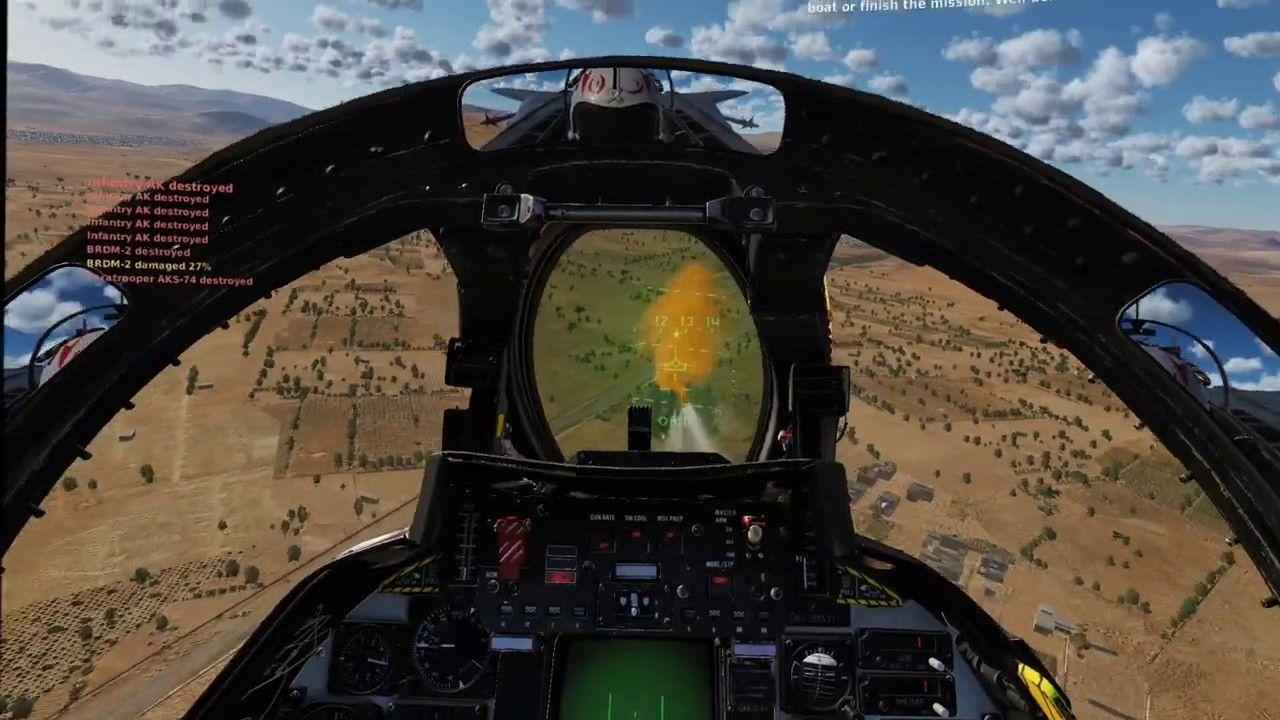 DCS WORLD F14B Hormuz Rocket Run Instant Action Persian