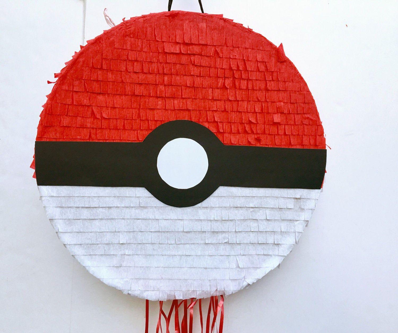 Pokemon Party Pokeball Pull Pinata