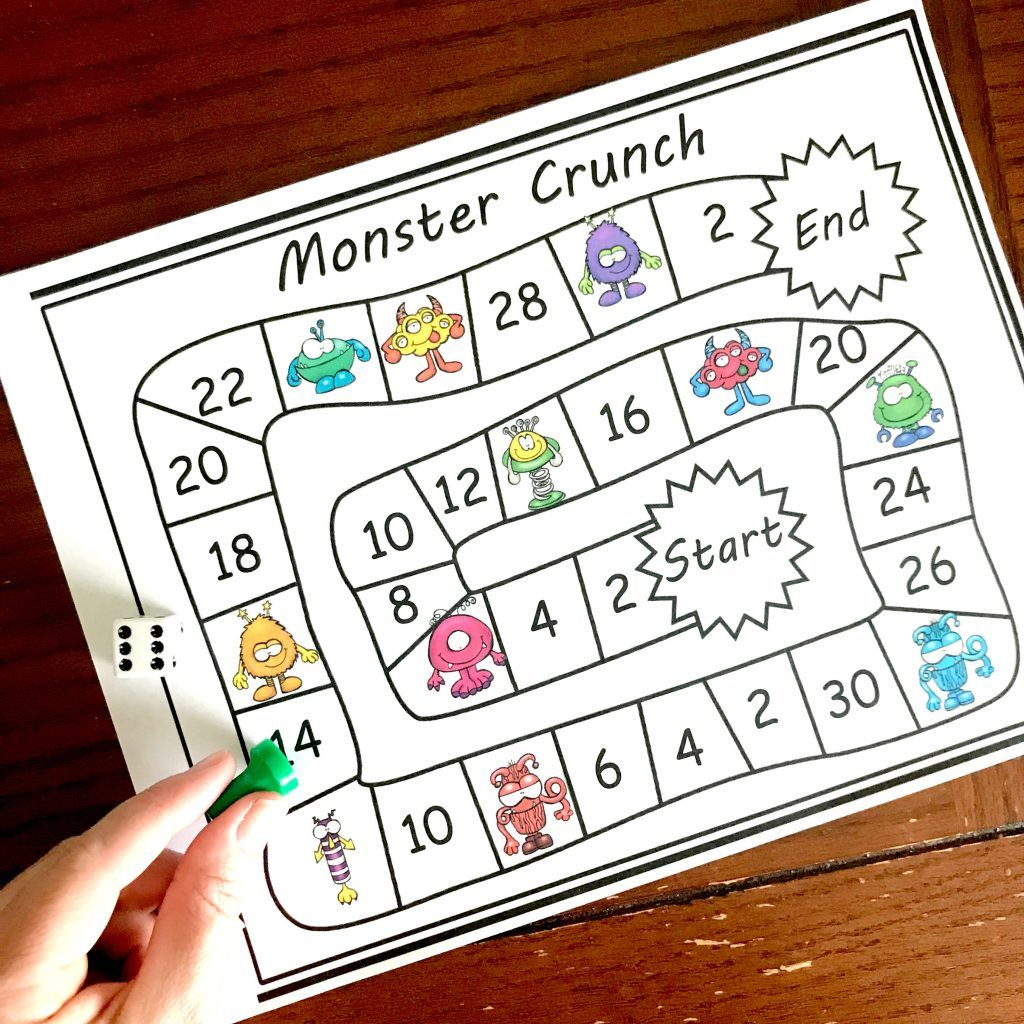 Grab these Skip Counting Games for the Classroom
