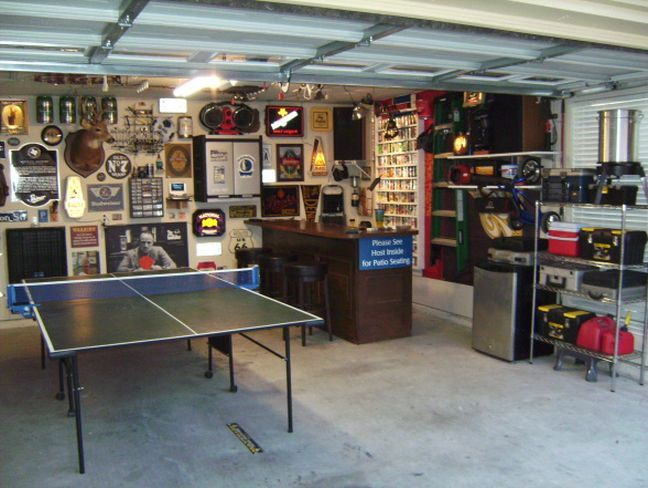 Man cave garage 648 488 man cave ideas for 2 car garage man cave