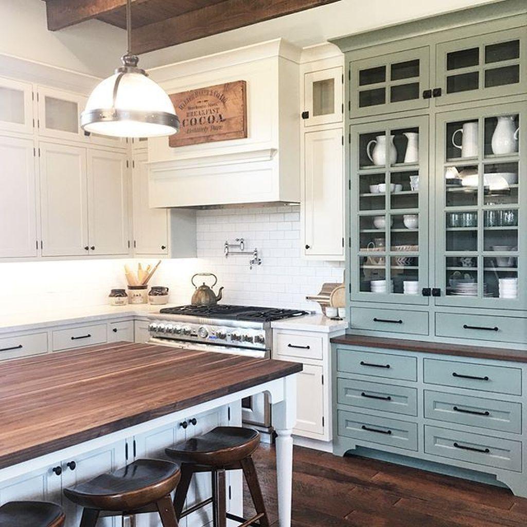 49 Unordinary Farmhouse Kitchen Design Ideas