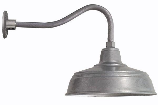 15 All Weather Gooseneck 975 Galvanized G31 Gooseneck 131 Discount Lighting Barn Lighting Barn Light Electric