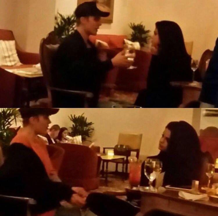 Justin and Selena met up