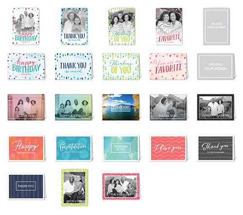 For Every Occasion Mix & Match Stationery Set, Square