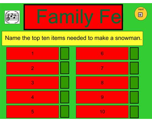 Christmas Family Feud  Holiday Ideas    Gaming