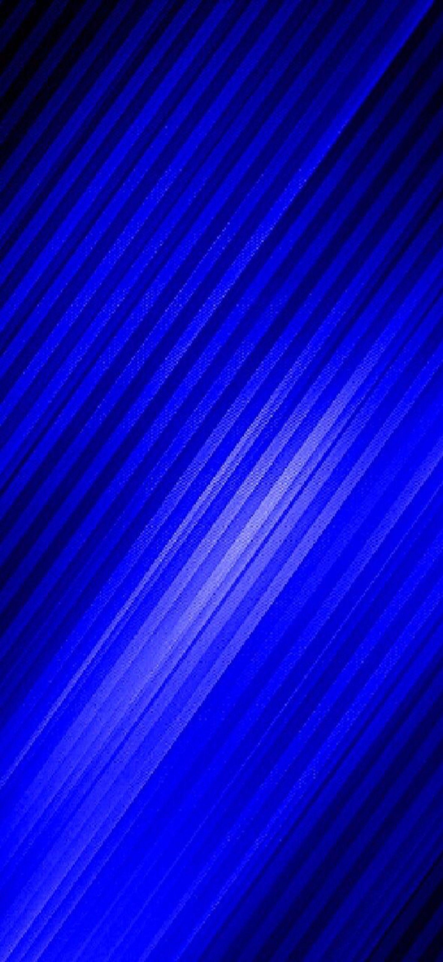 Wallpaper Cobalt Blue 002 resized for iPhone X Blue