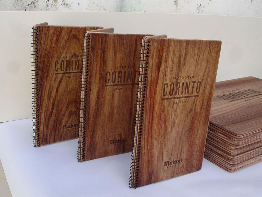 Otro modelo de cartas de men s grabado y corte l ser - Pasta para reparar madera ...