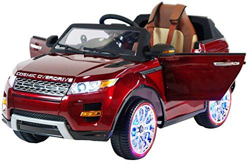 Range Rover Style Premium Ride On Electric Toy Car For Kids 12v Battery Powered Led Lights Mp3 Rc Parental Remote Con Toy Cars For Kids Toy Car Range Rover