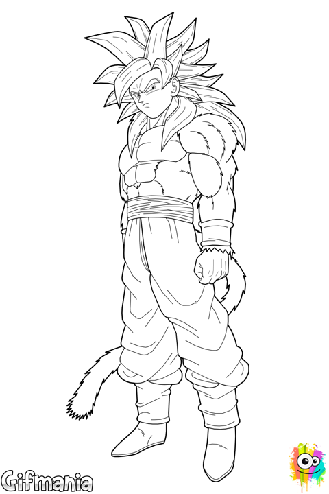 Goku Super Saiyan 4 | goku ssj4 | Pinterest | Goku super, Goku and ...