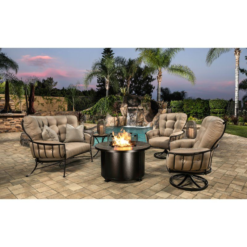 Ow Lee Monterra 6 Piece Sofa Seating Group With Cushions Perigold Outdoor Sofa Sets Outdoor Sunbrella Cushions