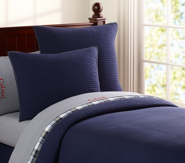 Kingston Quilted Bedding   Pottery Barn Kids   Bed, Quilt ...