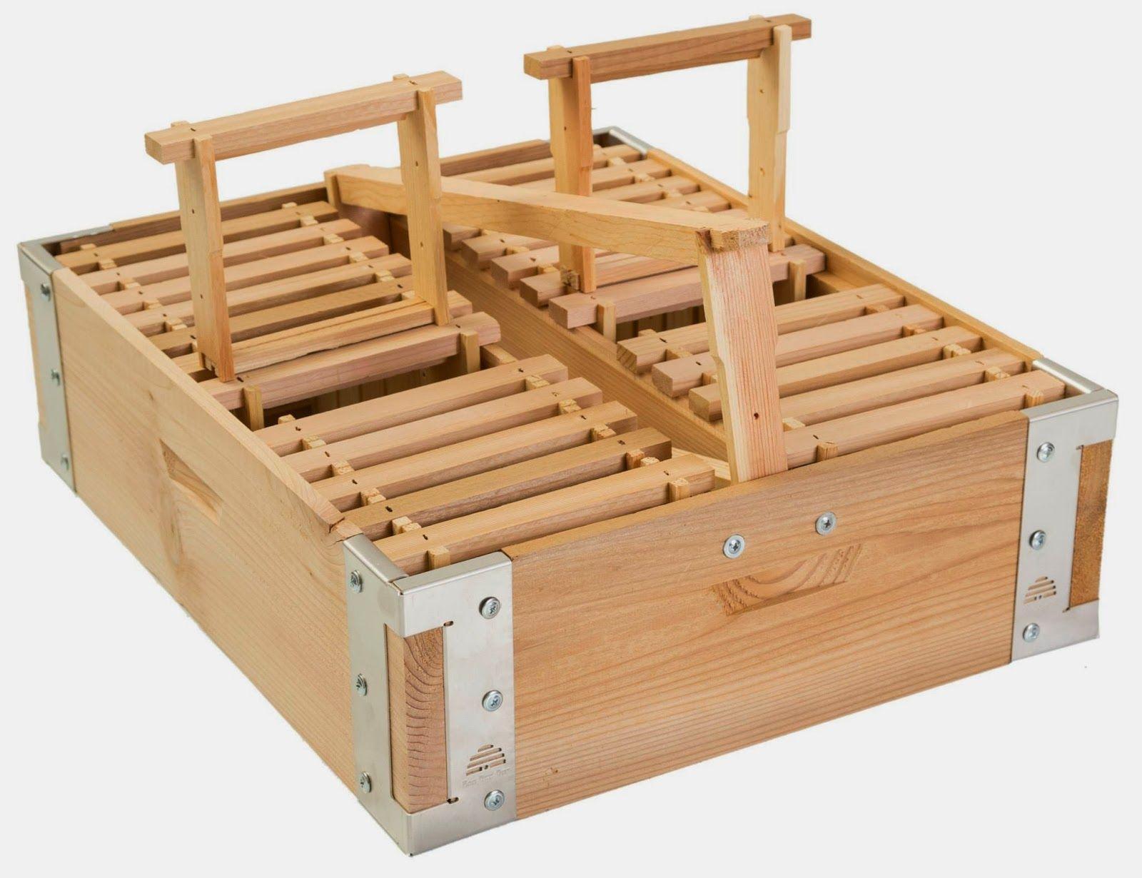 Comb Natural Beekeeping Kit Equipment Cedar