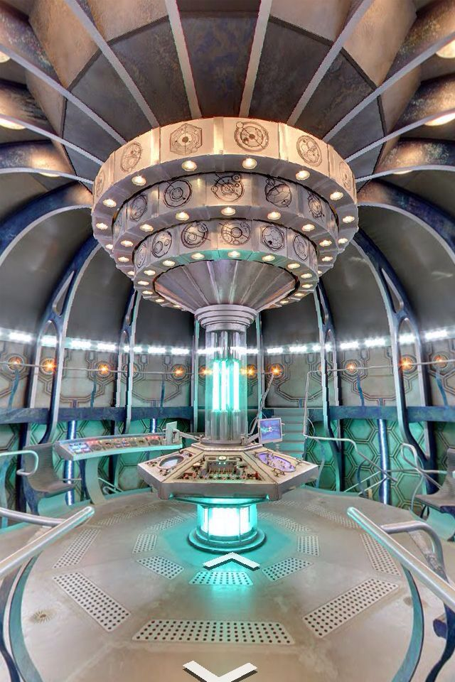 Inside of the tardis (wallpaper) I have this on my phone