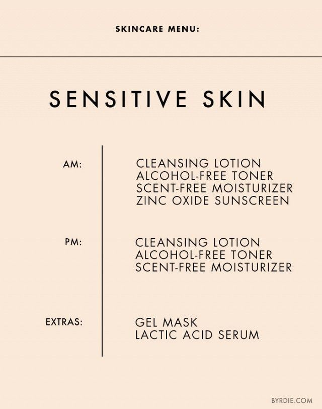 The Exact Regimen You Should Be Following for Your Skin Type #skincare