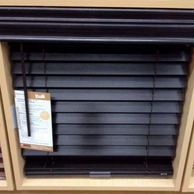 Dark Faux Wood Blinds -- Curated By: EuroTek Blind Factory