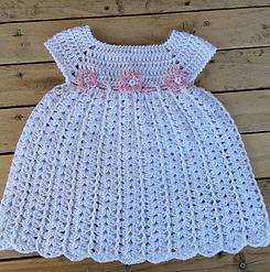 Robe Bébé Crochet Facile Vestidos Para Bebés Vestidos