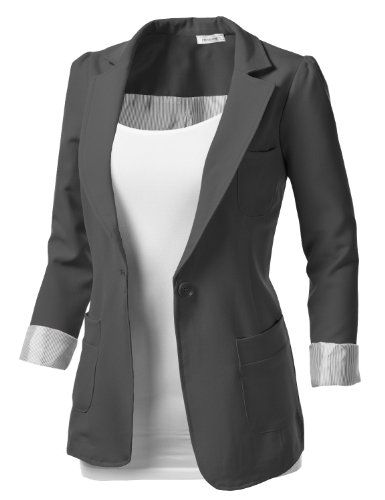 J.TOMSON Womens Tailored Boyfriend Blazer | Blazers, Kimomos, and ...