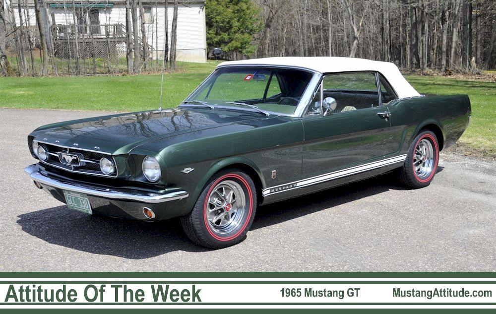 1968 Ford Mustang Gt Green With Black Vinyl Top Alden S 8th Car Ford Mustang Gt Mustang Gt Ford Mustang