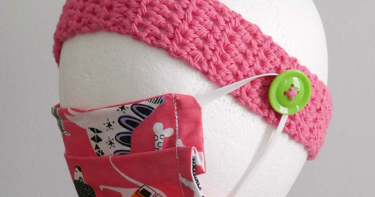 Photo of Headband Mask Helper, Free Crochet Pattern + Video