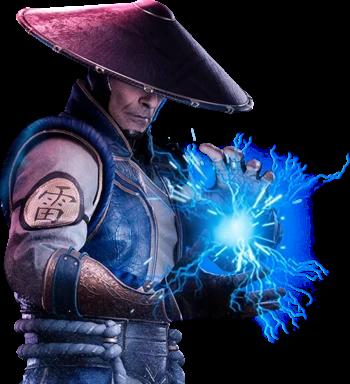 Raiden Mortal Kombat Wiki Fandom Mortal Kombat Characters Raiden Mortal Kombat Scorpion Mortal Kombat