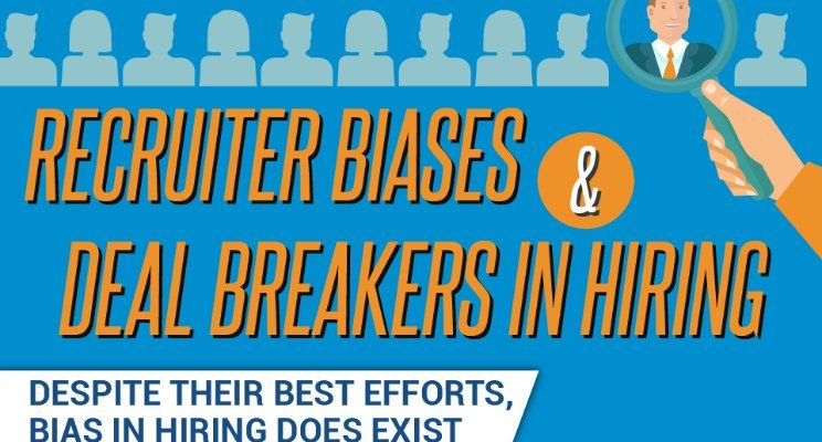 Recruiter Biases and Deal Breakers Infographic by Great Resumes - great resumes