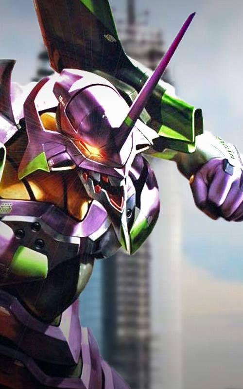 Neon Genesis Evangelion Eva Unit 01 Artist エヴァンゲリオン イラスト ロボット スケッチ イラスト